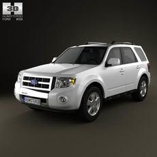 Ford Escape 2012 3D Model