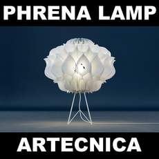 Artecnica Phrena Floor Lamp 3D Model