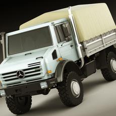 Mercedes Unimog u5000 3D Model