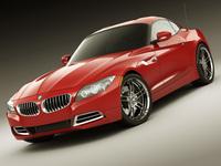 BMW Z4 e89 3D Model