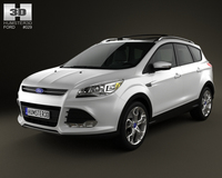 Ford Escape 2013 3D Model