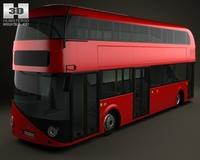 Wrightbus Borismaster 2012 3D Model