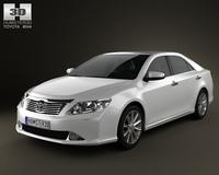 Toyota Camry EU 2012 3D Model