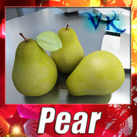 3D Model Pear High Resolution 3D Model