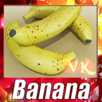 3D Model Banana High Detail 3D Model