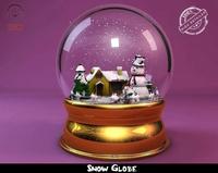 Snow Globe 3D Model