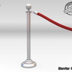 Barrier Rope 3D Model