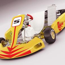Go-kart 3D Model