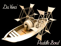 Free Da Vinci – Paddle Boat 3D Model
