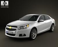 Chevrolet Malibu ECO 2013 3D Model
