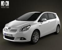Toyota Verso (E'Z) 2012 3D Model