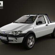 Fiat Strada III 2004 3D Model