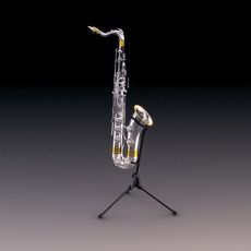 Dig king chrystal saxophone 3D Model