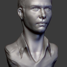 head sculpt 3D Model