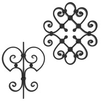 Wrought iron elements vol1 3D Model