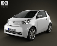 Toyota IQ 2009 3D Model