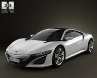 Acura NSX 2012 3D Model