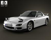 Mazda RX-7 1992 3D Model