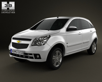 Chevrolet Agile 2011 3D Model