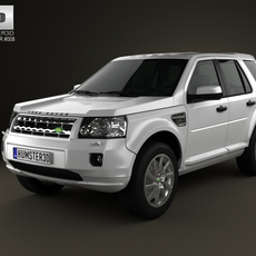 Land-Rover Freelander 2 (LR2) 3D Model