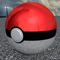 Poke Ball 3D Model