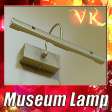 3D Model Museum or Gallery Artwork Light 3D Model