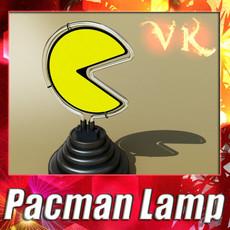 3D Model Pacman Table Lamp 3D Model