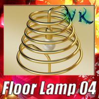 3D Model Modern Floor Lamp 04 Elice 3D Model