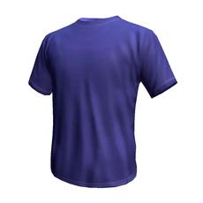 Blue T Shirt 3D Model