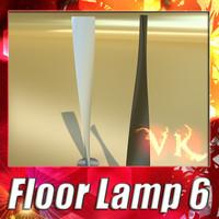 3D Model Modern Floor Lamp 06 3D Model