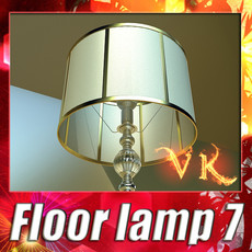 3D Model Floor Lamp 07 Constaletti 3D Model
