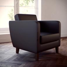 Custom sofa 04 3D Model