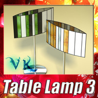 3D Model Modern Table Lamp 03 Sophie 3D Model