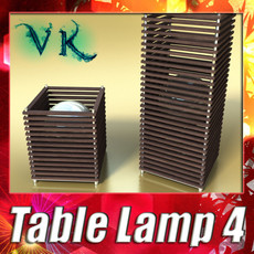 3D Model Modern Table Lamp 04 Koshi 3D Model