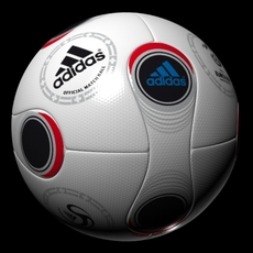 SoccerBallo Euro 2008 3D Model