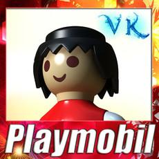3D Model Playmobil Toy 3D Model
