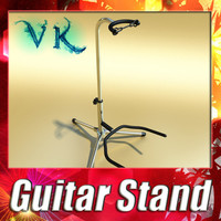 3D Model Guitar Stand 3D Model