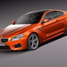 BMW M6 2013 coupe 3D Model