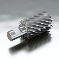 Free Milling Cutter 3D Model