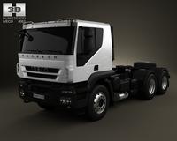 Iveco Trakker Tractor 3-axis 2012 3D Model