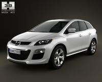 Mazda CX-7 2012 3D Model