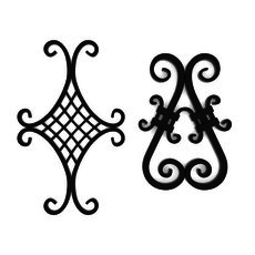 Wrought iron elements vol 4 3D Model