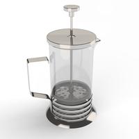 Cafetiere 3D Model