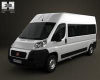 Fiat Ducato Minibus 2012 3D Model