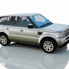 Range Rover Sport 2009 3D Model