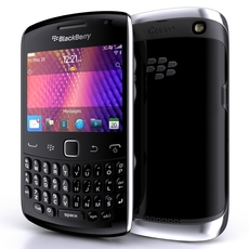 BlackBerry Curve 9350 3D Model