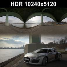 HDRI 109 River Columns