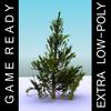 04 09 29 533 low polygon tree pine free 4