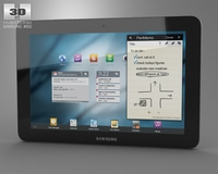 Samsung Galaxy Tab 10. 3D Model