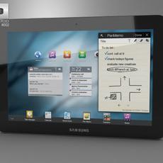 Samsung Galaxy Tab 10. 3D Model
